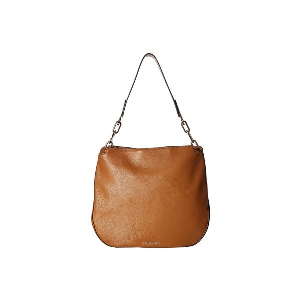 4c0338f14d90 Shop MICHAEL Michael Kors Fulton Large Acorn Hobo - On Sale - Free ...