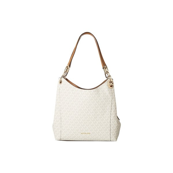 e4b0ccf051ae Shop MICHAEL Michael Kors Fulton Large Charm Shoulder Tote - On Sale ...