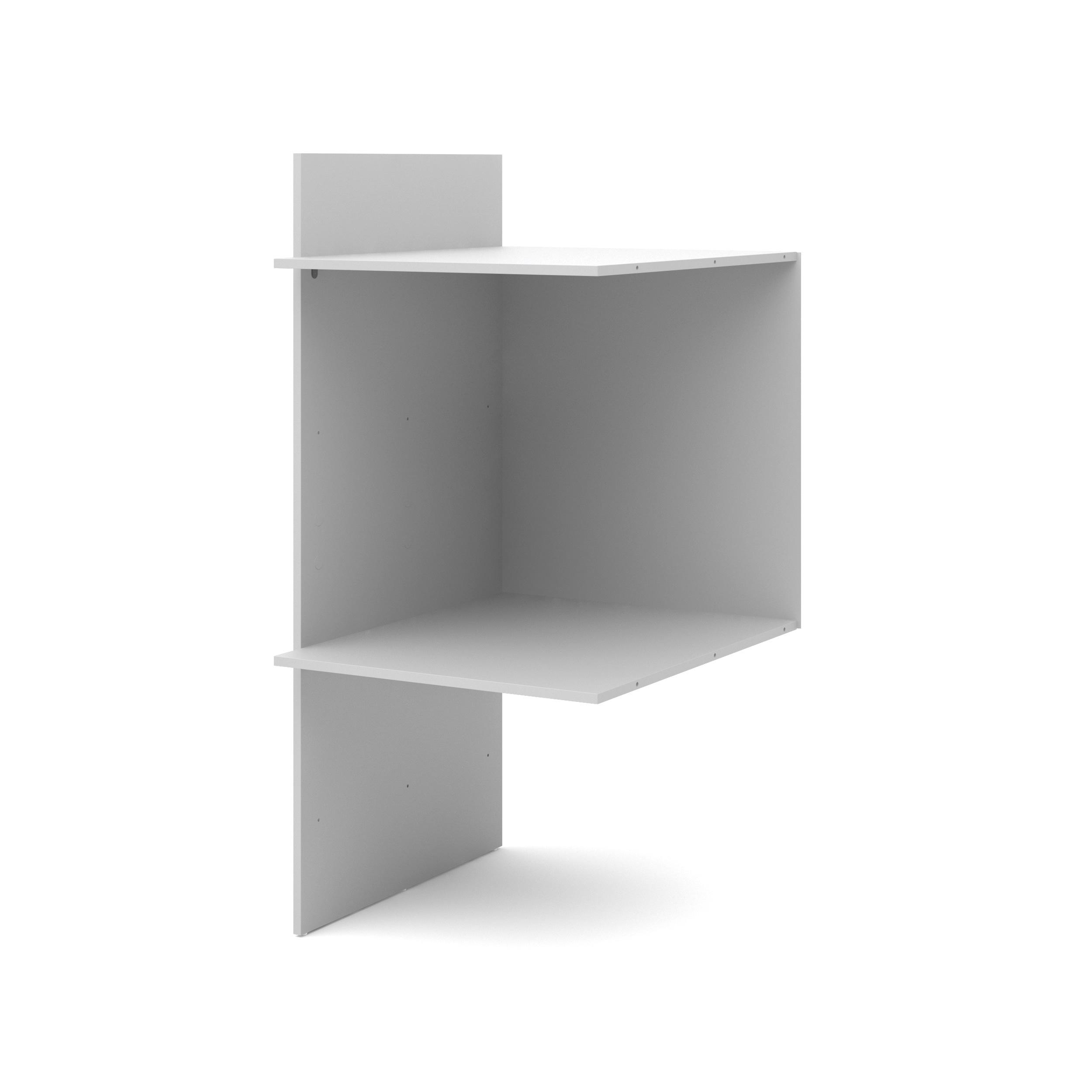 Space Silver Grey Utility Storage for Bins