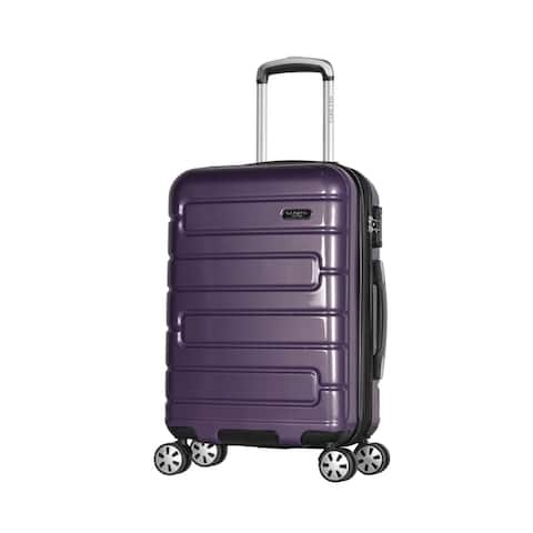 Olympia Nema 22-inch Hardside Lightweight 4 Wheel Spinner Carry-on Suitcase Luggage  Multiple Colors