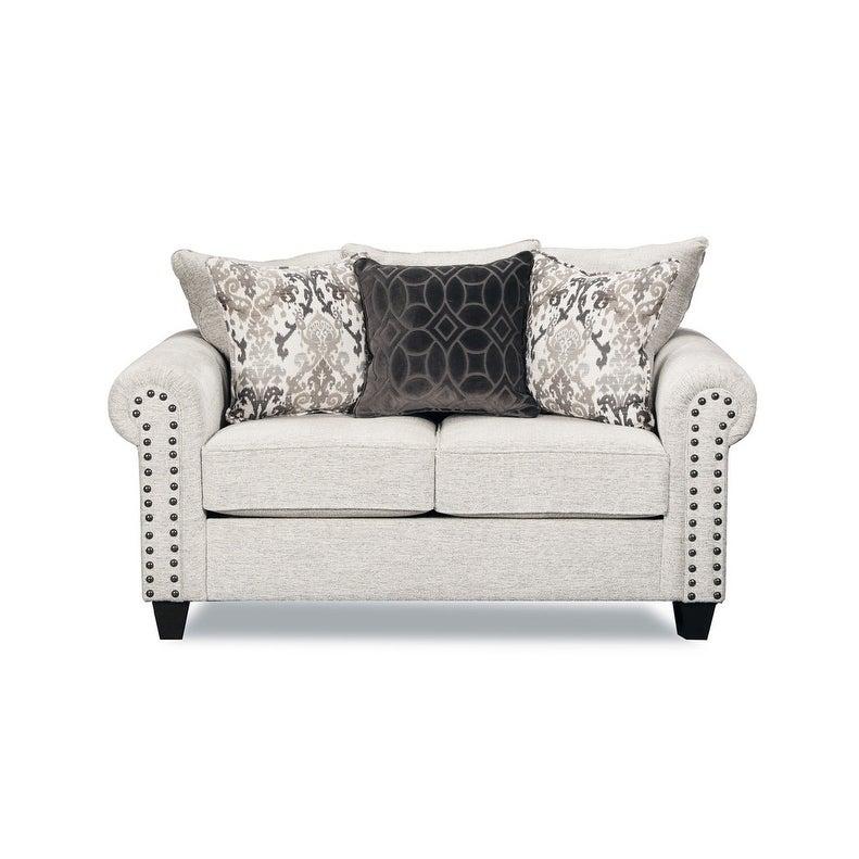 Simmons Upholstery  Della Linen Loveseat