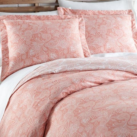 Vilano Premium Ultra-Soft Perfect Paisley Duvet Cover and Sham Set