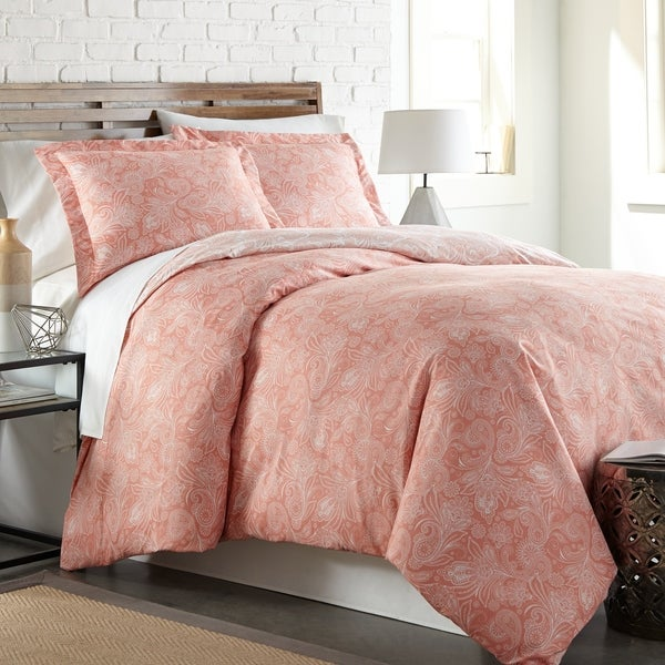 Perfect Paisley Reversible Duvet Cover and Sham Set