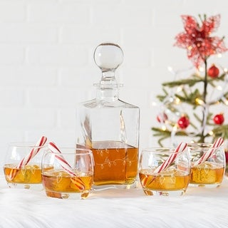 Fa La La Square Decanter Set