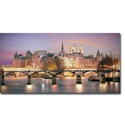 Paris No. 501 by Alan Klug Gallery Wrapped Canvas Giclee Art