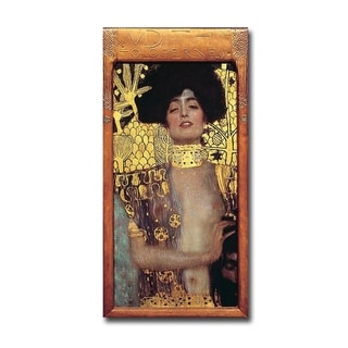 Judith I by Gustav Klimt Gallery Wrapped Canvas Giclee Art