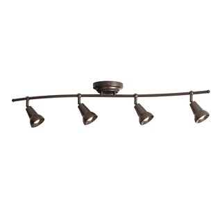 Aztec 4-light Oil Rubbed Bronze LED Rail/Flush Mount Fixture