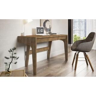 Ideaz International Baki Pecan Driftwood-finish Acacia Wood Desk