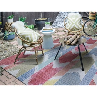 Paradise Medellin Indoor/Outdoor Area Rug - 5'10 x 9'2""