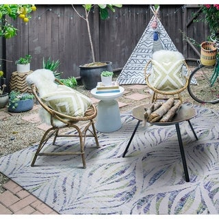 """Paradise Palm Indoor/Outdoor Area Rug - 5'10 x 9'2"""""""