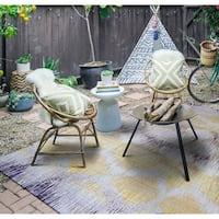 Paradise Pereira Indoor/Outdoor Area Rug - 5'10 x 9'2