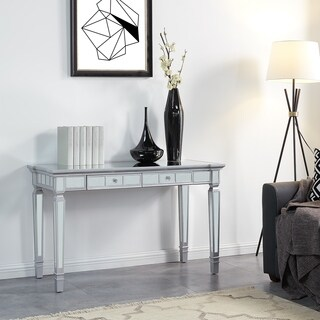 Harper Blvd Galian Glam Mirrored Writing Desk w/ Drawers