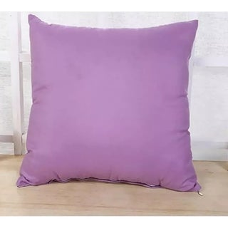 Candy Cane Throw Pillow Cover (Lilac) 18 X 18