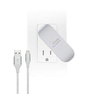 Studio by Belkin, 2-Port Fast Wall charger with 5ft Lightning Cable