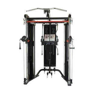 Inspire Fitness FT2 Functional Trainer and Smith Station (no bench) - Black