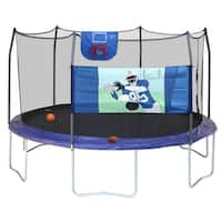 Skywalker Trampolines 15ft Round Sports Arena Trampoline with Enclosure Professional Edition