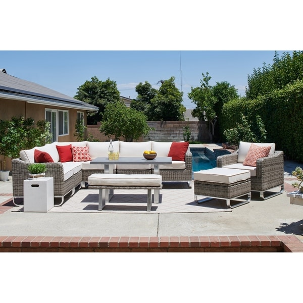 Manarola Sectional And Dining Set