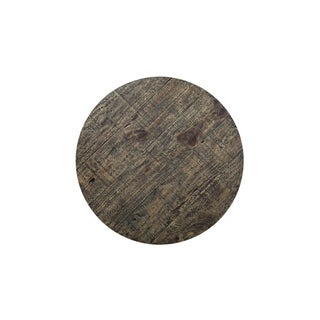 Furniture of America Tannen Rustic Round 52-inch Dining Table (Oak)
