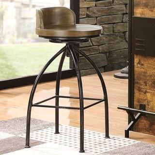 Link to Rustic Industrial Design Swivel Bar Stool Similar Items in Dining Room & Bar Furniture