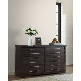 Double Dresser Espresso Finish Dressers Chests For Less Overstock