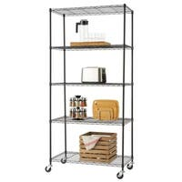 TRINITY 5-Tier Wire Shelving Rack