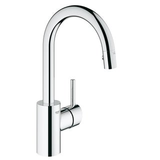 Grohe Concetto Single-Handle Kitchen Faucet 31479000 StarLight Chrome