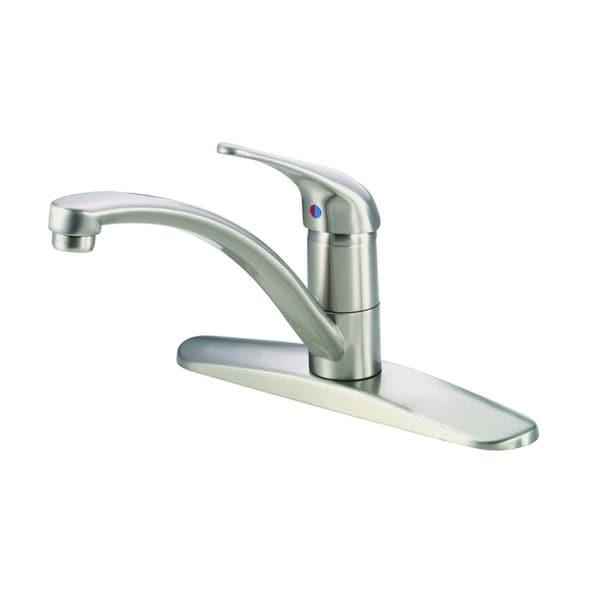 Shop Danze Melrose Single Handle Kitchen Faucet 1 75gpm D406612ss