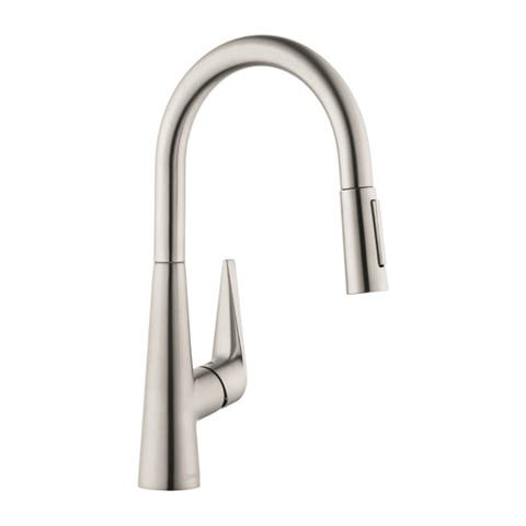 Hansgrohe Talis S HighArc Kitchen Faucet, 1.75 GPM 72813801 Steel Optic