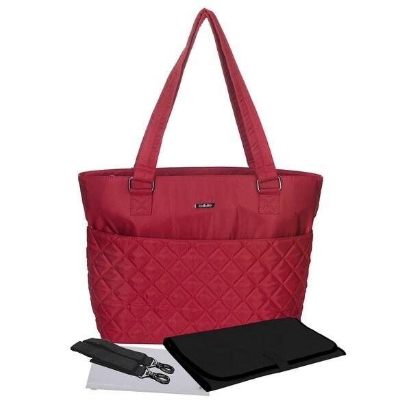 Mommy Diaper Bag Stroller Friendly Satchel Tote 12 Pockets