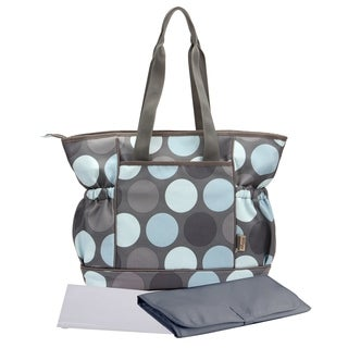 Baby Tote Diaper Mommy Bag Stroller Friendly 11 Pockets