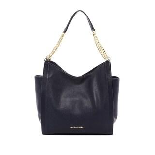 MICHAEL Michael Kors Newbury Admiral Blue Leather Tote Bag