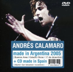 ANDRES CALAMARO - MADE IN ARGENTINA