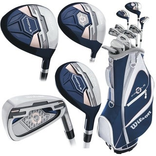 2018 Wilson Women Profile XD Full Set W/Cart Bag