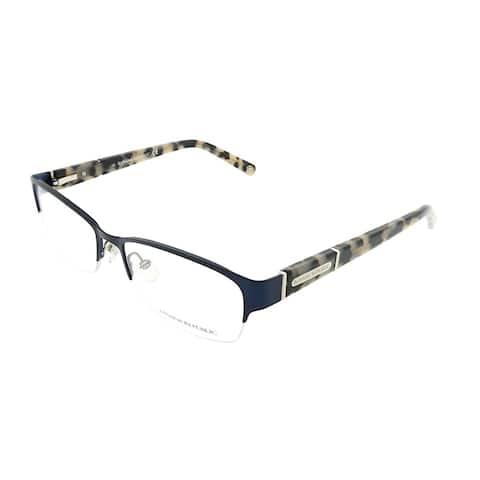 Banana Republic Semi-Rimless Jordyn DA4 Unisex Navy Frame Eyeglasses