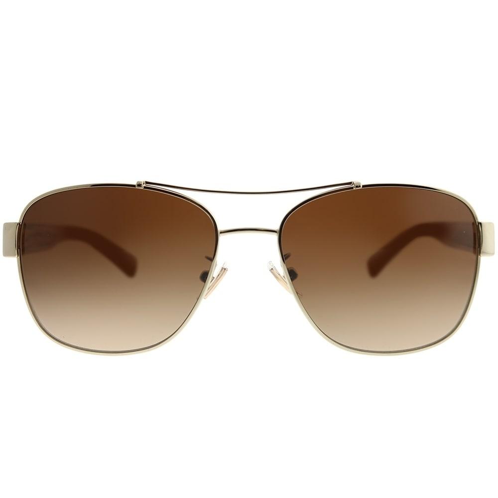 0f16c2e93 Sunglasses & Sunglasses Accessories Coach HC 7064 L151 926513 Light Gold  Crystal Light Brown Sunglasses