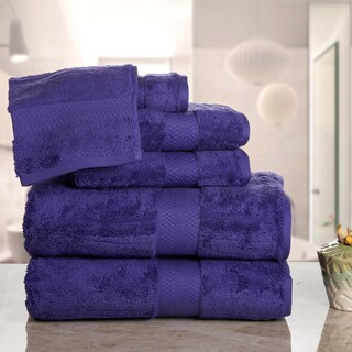Aerosoft - Premium Combed Cotton 710 GSM 6-Piece Bath Towel Set