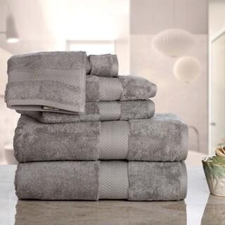 Aerosoft - Premium Combed Cotton 710 GSM  6-Piece Bath Towel Set