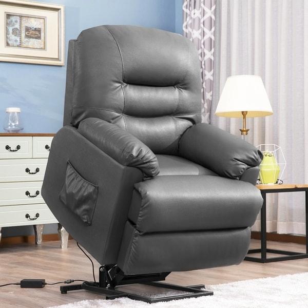 Shop Harper Amp Bright Designs Power Lift Chair Pu Leather