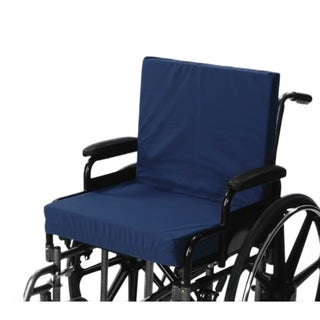Alex Orthopedic Wheelchair Cushion With Back 3-inch Seat