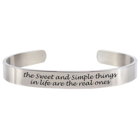 Sweet and Simple 8MM Cuff