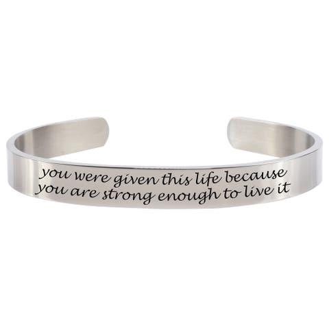 Strong Enough 8MM Cuff