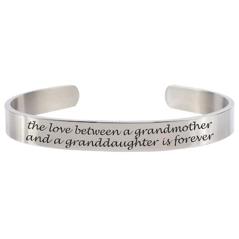 Love Between Grandmother 8MM Cuff