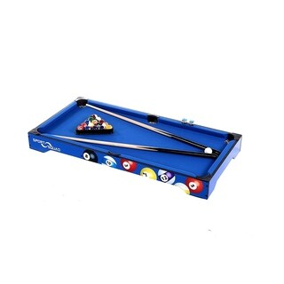 Sport Squad BX40 Table Top Billiard Table Set (Includes 2 Cues, Full Set of Balls, Chalk, Triangle)