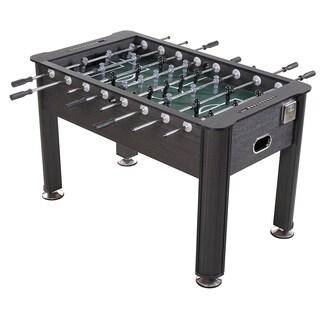 Sport Squad Greyson 56'' Regulation Size Foosball Table with Cup Holders, Grey Wood Finish