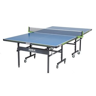 JOOLA Outdoor Aluminum Table Tennis Table with Weatherproof Net Set