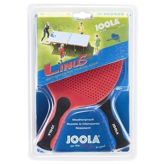 JOOLA Linus Indoor/Outdoor Two Table Tennis Racket Set