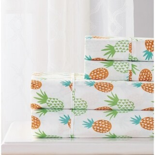 RT Designers Collection Pineapple Printed Sheet Set