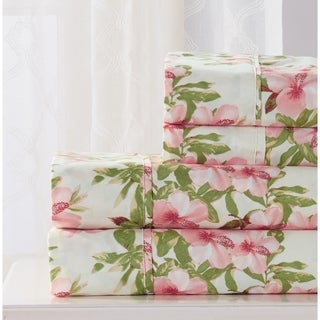RT Designers Collection Hibiscus Printed Sheet Set