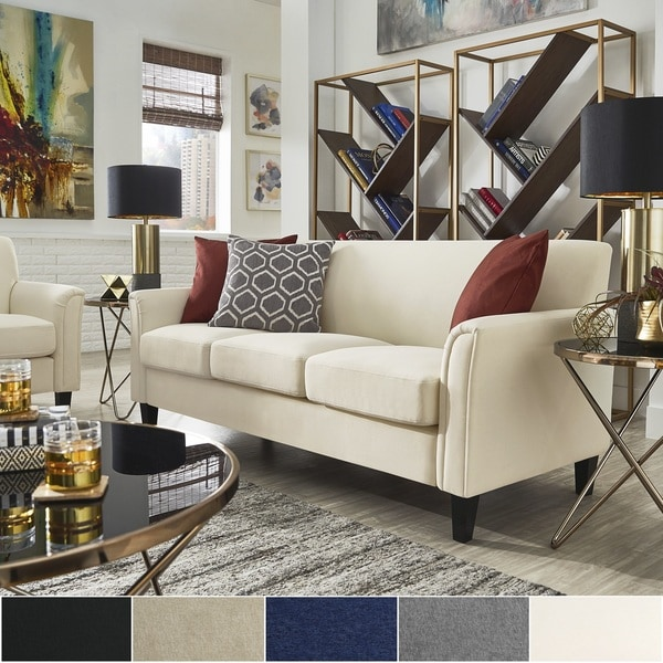 Uptown II Modern Sofa by iNSPIRE Q Classic