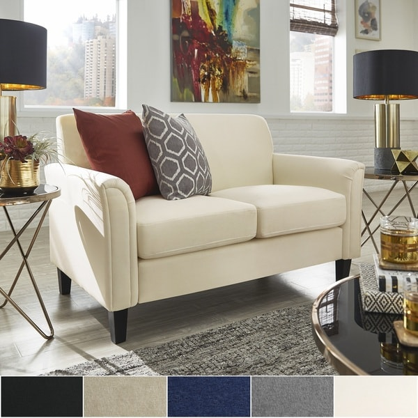 Uptown Ii Fabric Loveseat By I Nspire Q Classic by I Nspire Q